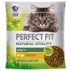 Perfect Fit Natural Vitality Kip & Kalkoen Kattenvoer