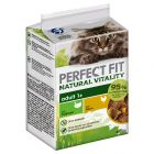 Perfect Fit Natural Vitality Kip & Kalkoen Kattenvoer nat