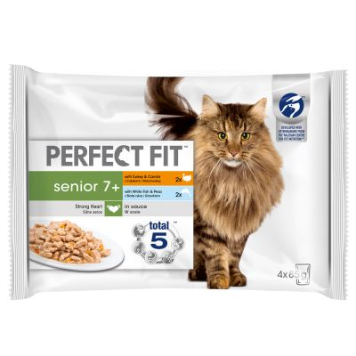 Perfect Fit Senior Mixed Selection Kattenvoer