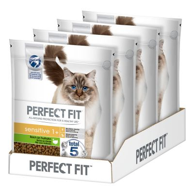 Perfect Fit Sensitive 1+ Riche en dinde pour chat