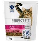 Perfect Fit Sterile Adult 1+ Riche en bœuf pour chat