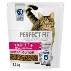 Perfect Fit Sterile Adult 1+ Riche en saumon pour chat