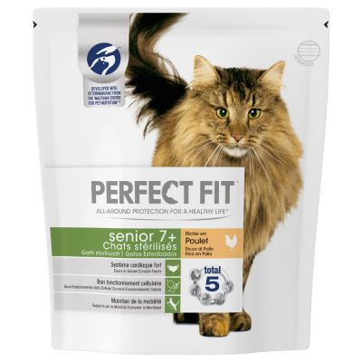 PERFECT FIT Sterile Senior 7+ Riche en poulet pour chat
