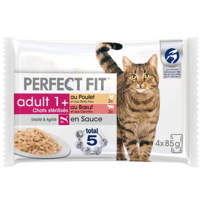 Perfect Fit Sterilised Adult 1+