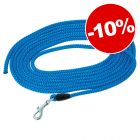 Petlando Longe corde, bleu pour chien : 10 % de remise !