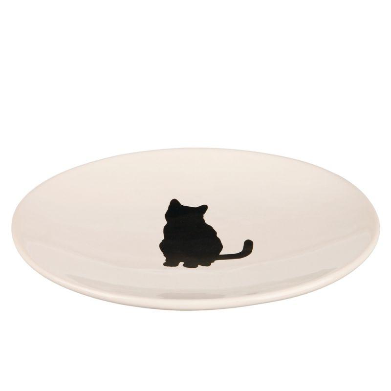 Piatto in ceramica Trixie con gatto