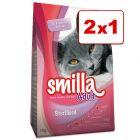 Pienso Smilla para gatos 2 kg en oferta: 1 + 1 ¡gratis!