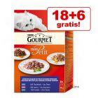 18 + 6 pliculețe gratis! Gourmet Mon Petit 24 x 50 g / 1.20 lei plicul
