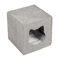 Plstěná kukaň pro kočky vhodná do policových dílů