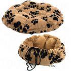 Poduszka Branca, beżowe w czarne łapki