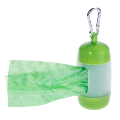 Poop Bag Dispenser with Bags
