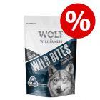 """25% popusta na Wolf of Wilderness Snack - Wild Bites """"The Taste Of"""" 180 g"""