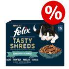 "15% popusta na 12/44 x 80 g Felix ""Tasty Shreds"" vrećice!"