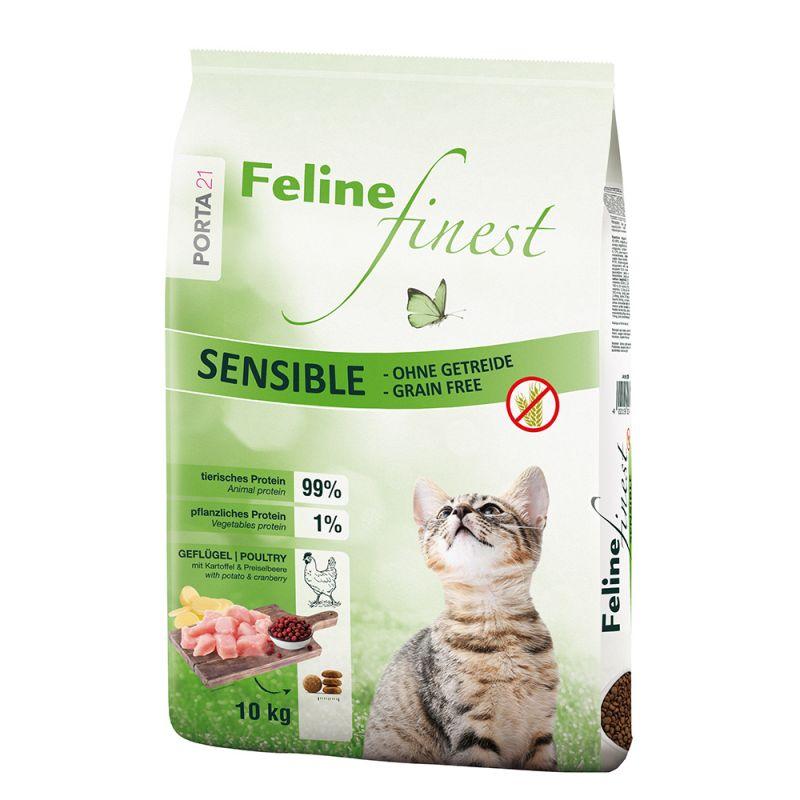 Porta 21 Feline Finest Sensible, bez zbóż