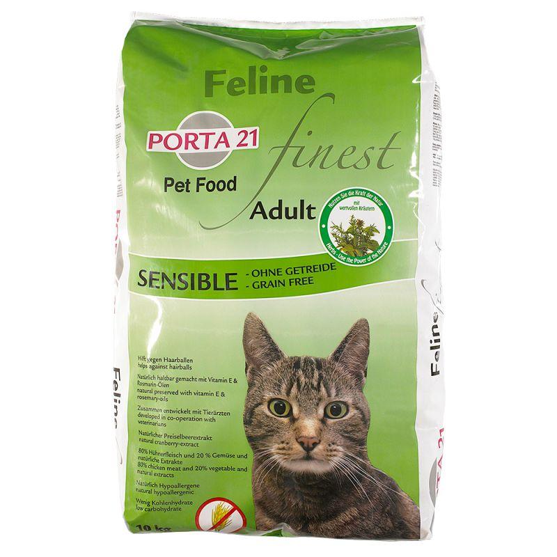 Porta 21 Feline Finest Sensible - spannmålsfritt