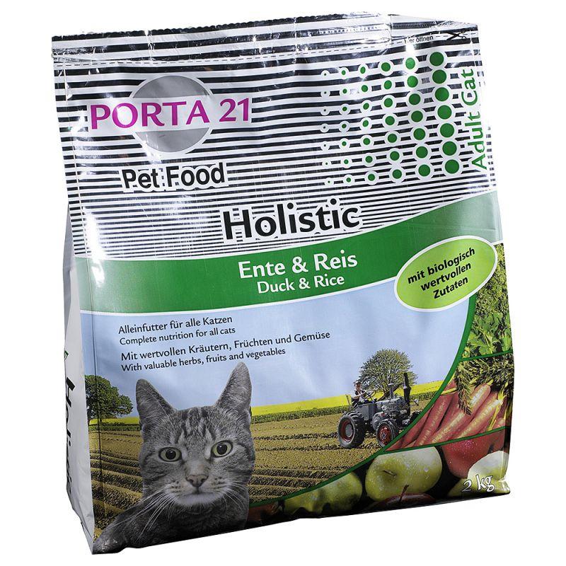 Porta 21 Holistic Cat com pato e arroz