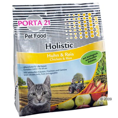 Porta 21 Holistic Cat con pollo y arroz