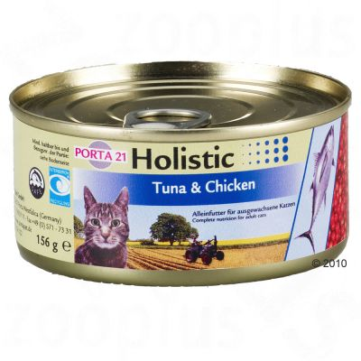 Porta 21 Holistic Cat Food in Jelly 6 x 156 g