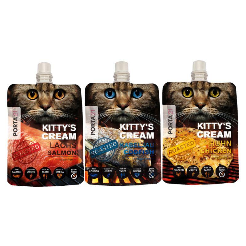 Porta 21 Kitty's Cream snack para gatos - Pack mixto