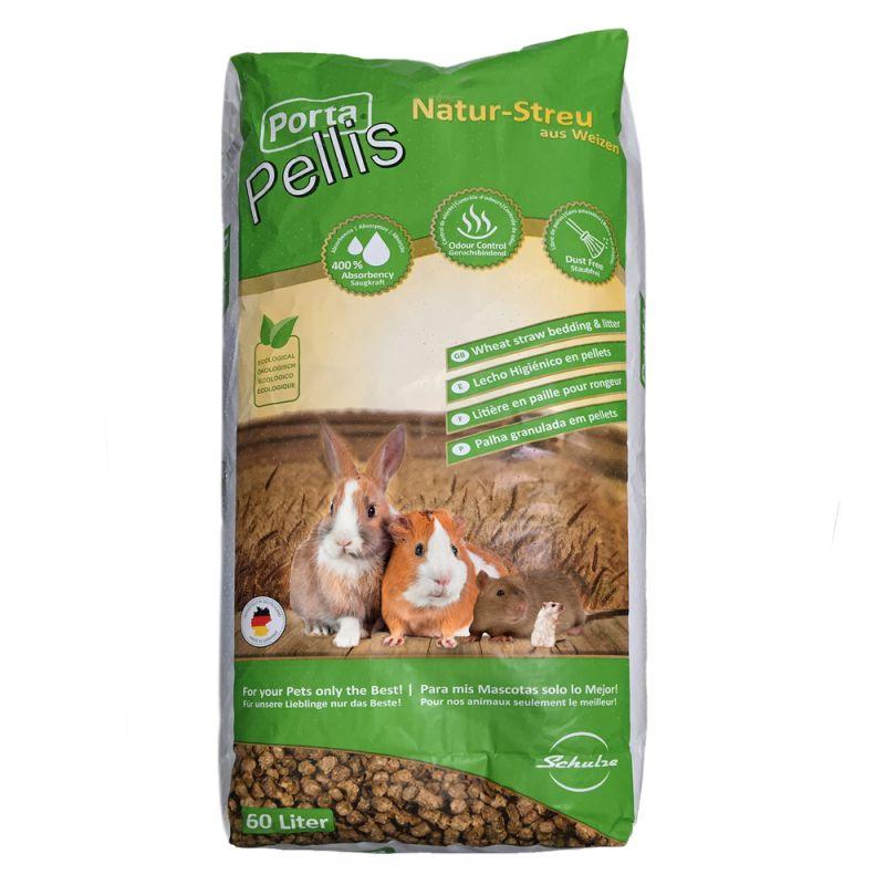 Porta Pellis halm-pellets