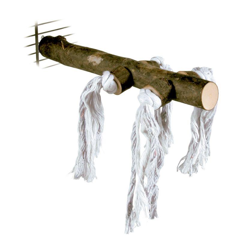 Posatoio in legno Trixie con nappine