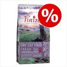 Poskusna akcija: 400 g Purizon suhe hrane za mačke za 2,99 €