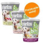 """Poskusni paket Briantos """"FitBites"""" pasji prigrizki 3 x 150 g"""