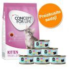 Poskusni set Kitten: Concept for Life 400 g + Cosma Nature
