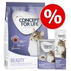 Poskusno pakiranje Concept for Life Beauty