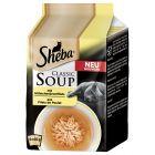 Poskusno pakiranje Sheba Classic Soup vrečke 4 x 40 g