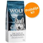 Próbacsomag: 1kg Wolf of Wilderness 'The Taste Of'