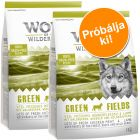 Próbacsomag: 2 x 1 kg Wolf of Wilderness száraztáp