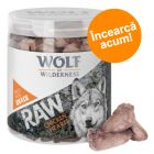 Preț exploziv - 20 lei! Wolf of Wilderness - Snackuri RAW (liofilizate)