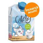 Preț exploziv: 9.90 lei! Catessy Lapte pentru pisici, 6 x 200 ml