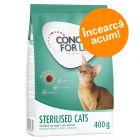 Preț exploziv - 5,90 lei! 400 g Concept for Life Sterilised Cats