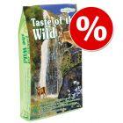 Preț special! 2 kg / 6.6 kg Taste of the Wild hrană uscată pisici