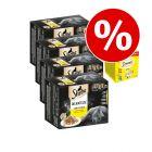 Preț special! 48 x 85g Megapack Varietăți Sheba + 12 x 60g Dreamies