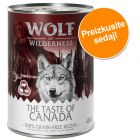 "Preizkusite sedaj: Wolf of Wilderness ""The Taste Of"" 6 x 400 g"