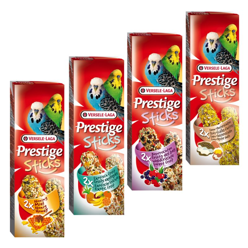 Prestige Sticks for Budgies Mixed Pack