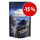 Prezzo speciale! 100 g (6 filetti) Wild Freedom Fillet