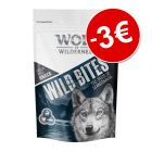 Prezzo speciale! 180 g Wolf of Wilderness Snack - Wild Bites
