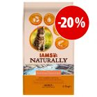 Prezzo speciale! 2,7 kg IAMS Naturally Cat
