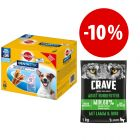 Prezzo speciale! 112 Pedigree Dentastix + 1 kg secco Crave Adult Dog