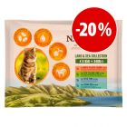Prezzo speciale! 12 x 85 g IAMS Naturally Cat Adult Mix