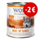 Prezzo speciale! 24 x 800 g Wolf of Wilderness