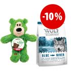 Prezzo speciale! KONG WildKnots Bear zooplus + 1 kg Wolf of Wilderness