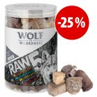 Prezzo speciale! Snack liofilizzati Wolf of Wilderness - RAW misti