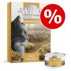 Prezzo prova! 6 x 70 g Wild Freedom Adult Instinctive Alimento umido gatti