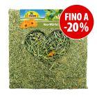 Prezzo speciale! 450 g JR Farm Cubo di fieno con fiori