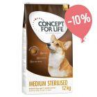 Prezzo speciale! 12 kg Concept for Life per cani